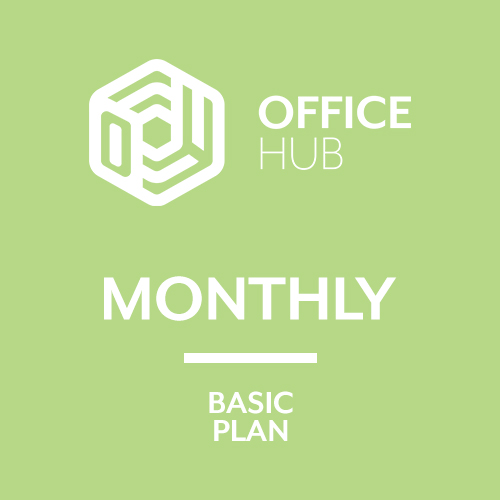 Rent an office in Malta - Monthly Basic Plan